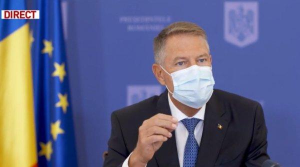 """Iohannis, despre numărul crescut de infectați cu COVID: """"Situația la noi nu e bună! Este imperativ necesar să..."""""""