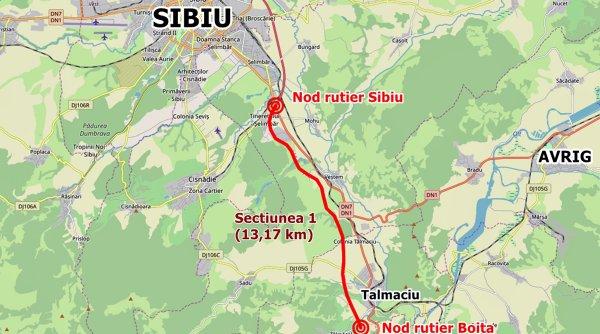 Lucrări sistate la cea mai aşteptată autostradă din România. Buldozerele s-au oprit în curtea a doi localnici din Tălmaciu