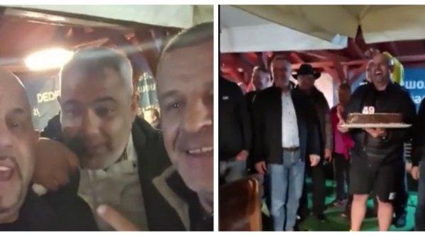Petrecere la Deva în plină pandemie, după noul mandat al primarului! Petrecăreţii au dansat pe manele fără măşti de protecţie