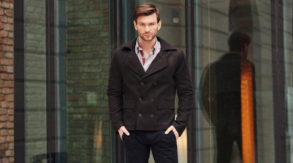 Paltoanele pentru bărbați au revenit la modă