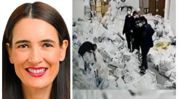 """Prima reacție a lui Clotilde Armand după imaginile fraudei la alegeri: """"Dna Firea și fostul primar promovează știri false, sunt doar niște loseri disperați!"""""""
