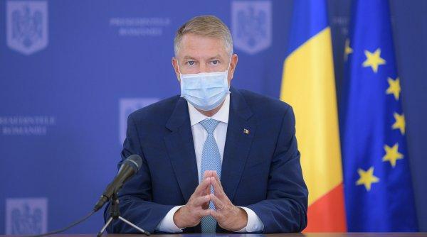 Klaus Iohannis, anunţuri importante după ce pandemia a scăpat de sub control în Capitală