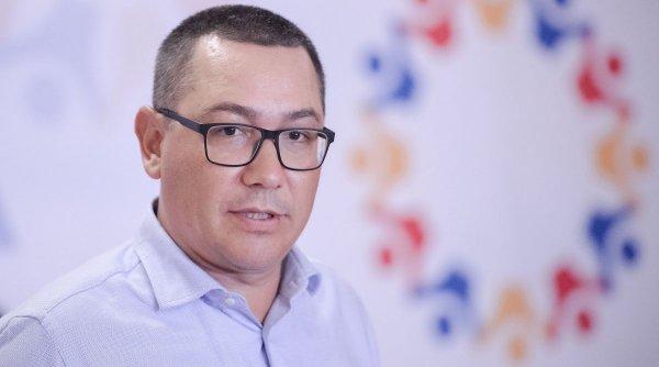 Victor Ponta: E vremea ca vocea românilor să se audă mai tare decât cea a politicienilor