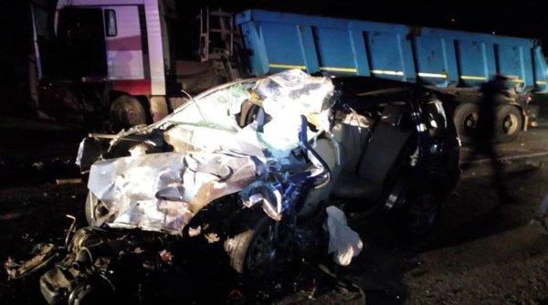 Tânăr de 22 de ani, mort pe loc după un accident la 180 de km/h în Văleni, Vaslui