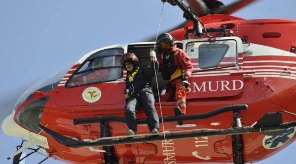 Grav accident rutier în Alba, cu 15 persoane implicate. A fost activat planul roşu de intervenţie