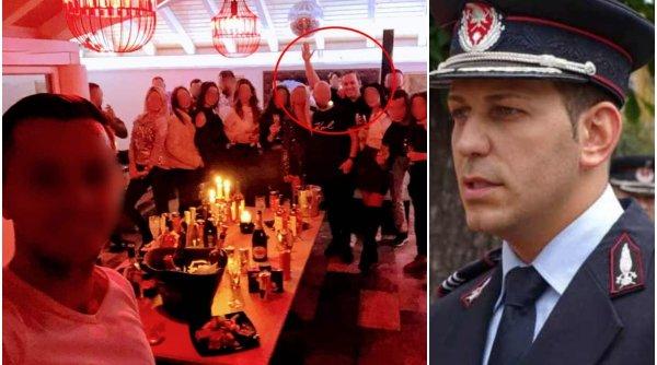 Purtătorul de cuvânt al ISU Braşov, la o petrecere care ignoră regulile de protecţie pandemică