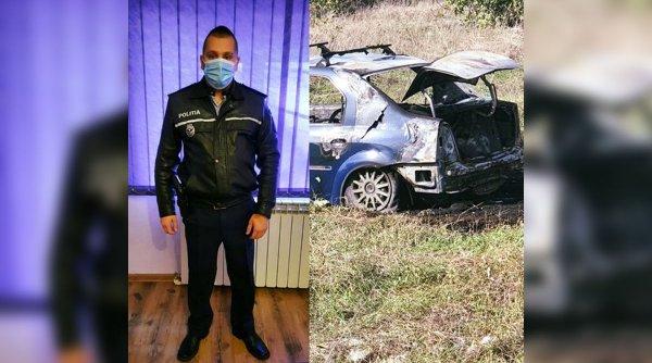 Un şofer rănit a fost salvat în ultima clipă de un absolvent al Școlii de Poliție de la Câmpina. Reacţia Poliţiei Române