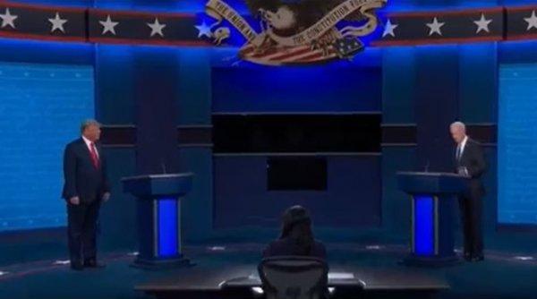 Dezbaterea secolului: Trump vs. Biden! Acuzații dure între cei doi candidați
