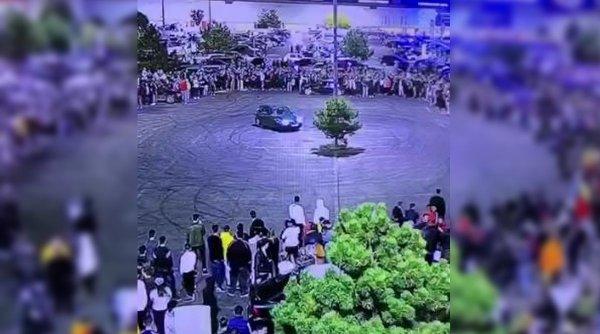 Razie de amploare în Bucureşti. Poliţia a ieşit să-i calmeze pe drifterii care au sfidat toate regulile, inclusiv cele sanitare