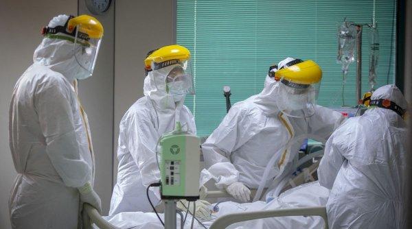 Un pacient cu COVID-19 internat la Institutul Matei Balș s-a aruncat de la etaj în urmă cu câteva momente