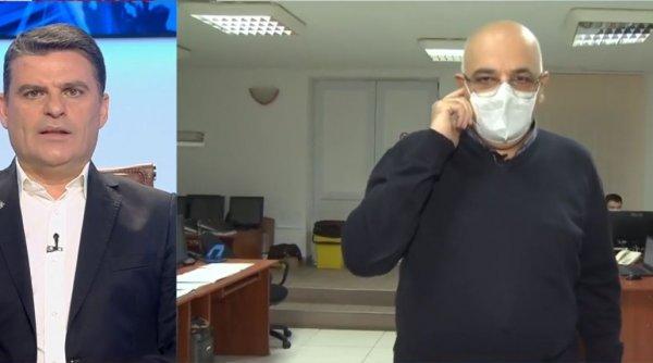 Medicul Raed Arafat a prezentat în exclusivitate la Antena 3 Centrul de Comandă care ţine evidenţa şi dirijează internarea pacienţilor cu COVID