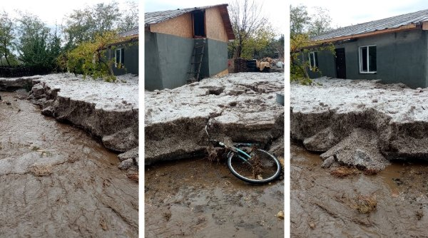 Fenomene meteo extreme în estul țării: Grindină de 1 metru grosime în Constanța și tornadă în Tulcea