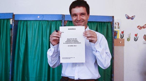 Nicușor Dan rămâne primarul Capitalei