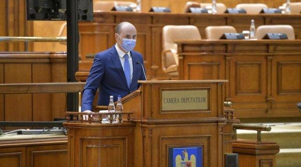 Liberalul Alexandru Muraru, cel mai nou deputat din parlament. Tocmai a depus jurământul!