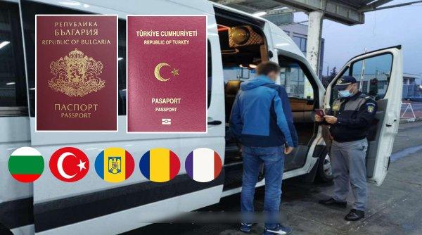 Un turc care se dădea bulgar a fost prins de români la graniţa cu moldovenii înainte să ajungă la francezi