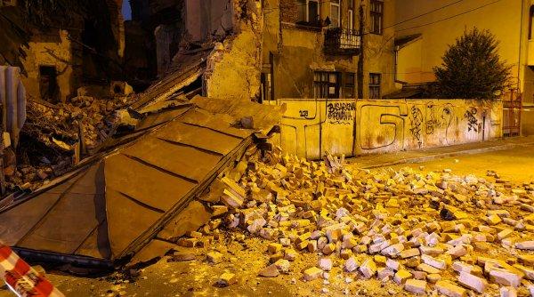 O clădire monument istoric din centrul Capitalei s-a prăbușit!