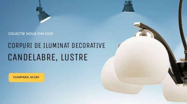 Corpuri de iluminat abelectric.ro la un raport pret/calitate avantajos!
