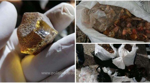 Urmărire ca-n filme! Un șofer a avariat mașina Poliției pentru a-şi salva cele 250 kg de pietre semiprețioase din portbagaj