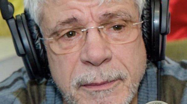 """Actorul Gheorghe Visu, internat la Institutul """"Matei Balş"""" după ce s-a îmbolnăvit de COVID-19"""