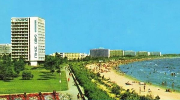 Staţiunea Mamaia devine o oază de verdeaţă, cu plaje largi, aşa cum era în anii '70