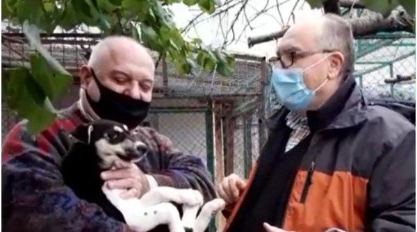 Doi căţei abandonaţi şi-au găsit stăpâni celebri, prin intermediul Antena 3