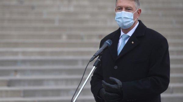 Klaus Iohannis a anunțat când se vor vaccina politicienii