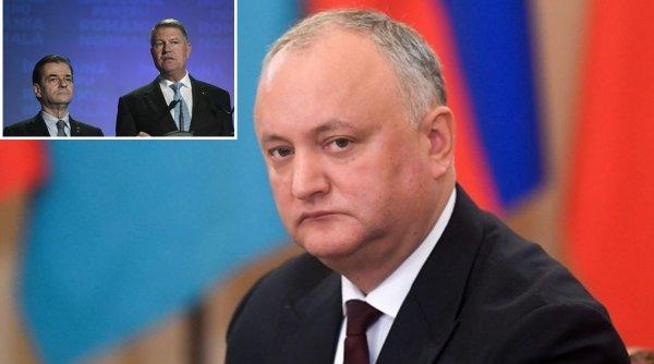 Iohannis și Orban, dați în judecată de Igor Dodon