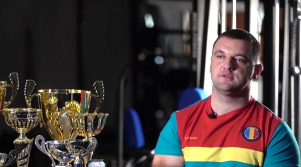 Andrei Chipreanov, campion mondial la skandenberg, muncitor pe şantier în Anglia din cauza dezinteresului statului român