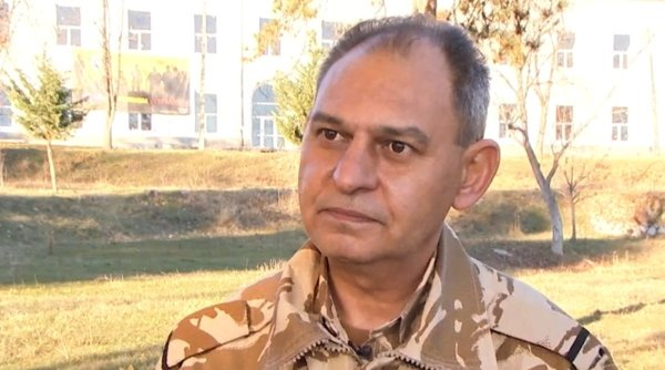 Marius Apostol, militarul român care luptă pentru veteranii răniţi în război: Iubiţi România!
