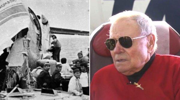Paul Mitu, pilotul român care a salvat 186 de oameni, după ce a amerizat în Oceanul Atlantic
