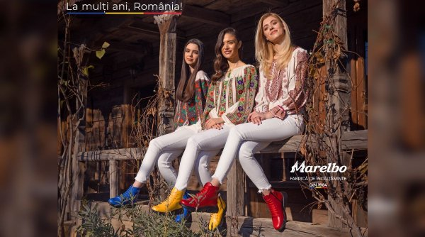 Sărbătorește românește împreună producătorul de încălțăminte Marelbo
