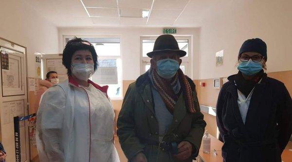 Bătrân care nu avea bani de tratament ajutat de cadrele medicale de la Spitalul Județean Arad