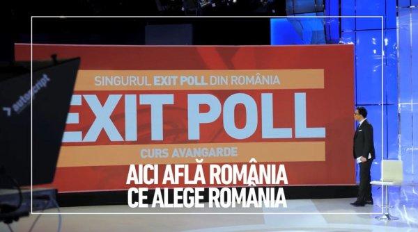 Singurul exit poll din România, exclusiv la Antena 3. Află primul rezultatele, la 21.00