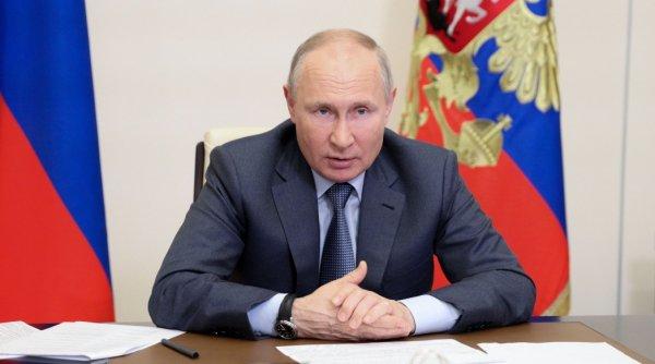 """Putin, mesaj pentru România: """"Există un bun potenţial de cooperare în ceea ce priveşte regiunea Mării Negre"""""""