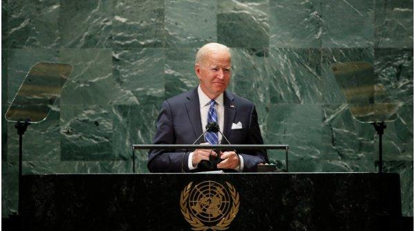 """""""Lumea democratică trăiește în mândrii moldoveni, care au obținut o victorie pentru forțele democratice"""", a spus Biden în discursul său la ONU"""