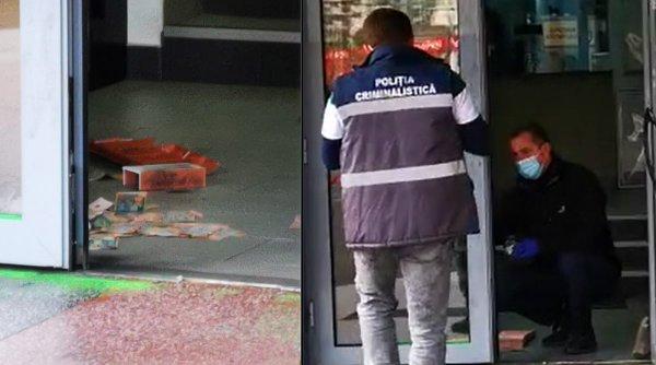 Jaf cu spray paralizant într-o casă de schimb valutar din Cluj-Napoca