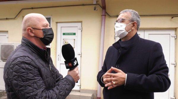 """Vergil Chiţac, primarul municipiului Constanţa: """"Spitalul de Boli Infecţioase va fi gata, cel mai probabil, în 2023"""""""