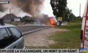 Explozie la o vulcanizare din Pitesti. Un barbat de murit, iar altul este ranit grav