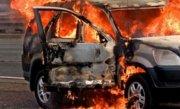 Patru tineri din Salaj au ars de vii, captivi �n masina, �n urma unui acccident