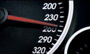Şofer de 18 ani, prins c�nd conducea cu 212 km/ pe ora