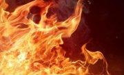 Incendiu puternic �n cladirea Ateneului din Iasi. Nu exista victime