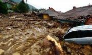 Cod portocaliu de inundatii �n zece judete din sudul tarii
