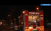 Incendiu �ntr-o benzinarie din T�rgoviste, l�nga o butelie GPL. Masina unui taximetrist s-a facut scrum