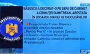 Sinteza Zilei. Basescu a decorat-o pe sefa de cabinet a Crinutei Dumitrean