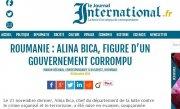 Presa internationala: Alina Bica, simbolul coruptiei
