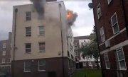 Incendiu în Londra. Zeci de pompieri au luptat împotriva flăcărilor