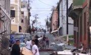Un baraj a cedat în urma uraganului Maria. Două oraşe, evacuate de urgenţă - VIDEO