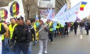 Sindicatele din poliţie şi penitenciare organizează sâmbătă acţiuni de protest şi marş spre Guvern