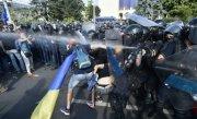 Jandarmii agresați la protestul din 10 august vor fi audiați