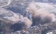 Imagini dramatice surprinse la exploatarea minieră de la Alunu, în Vâlcea. Un excavator gigant s-a prăbușit - VIDEO